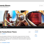 How to Show Sidebar on Twenty Eleven Theme 