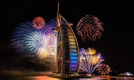 Abu Dhabi Christmas Firewoks