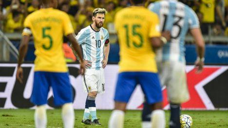 Argentina lawan Brazil Semi Final copa America 2019