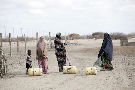 middle east drought