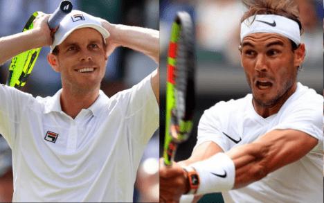 Nadal Melaju ke Semi Final Tenis Wimbledon 2019