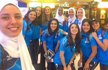 Bola Voli Putri Mesir Berebut Juara Ketiga Piala Afrika 2019